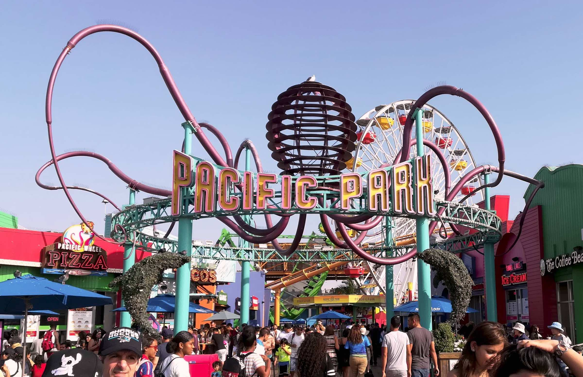 Pacific Park en Santa Mónica