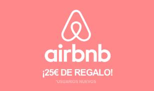Descuento de 25€ en Airbnb