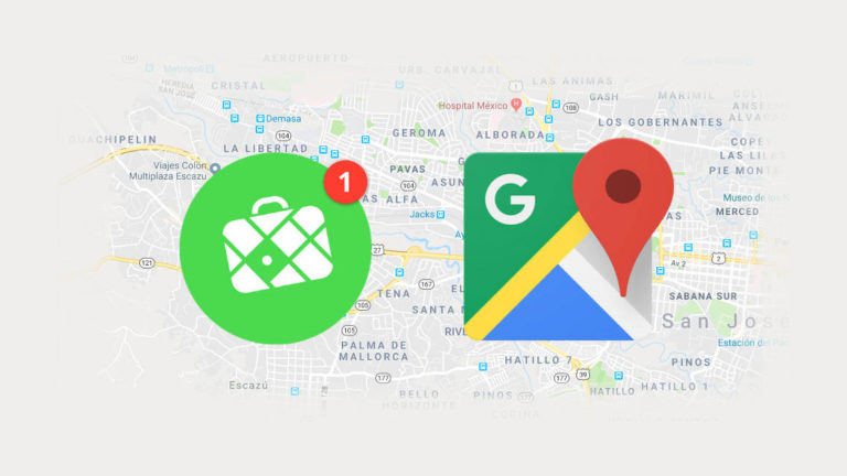 Mapas offline con google o mapsme