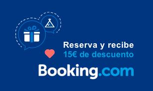 Descuento 15€ en Booking