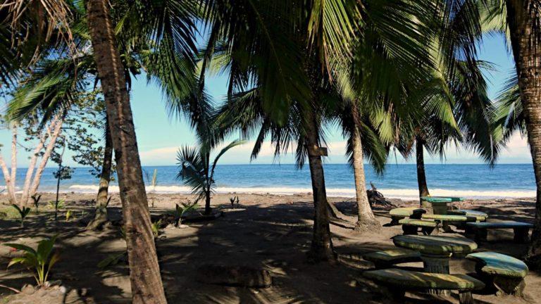 Playa en Cahuita