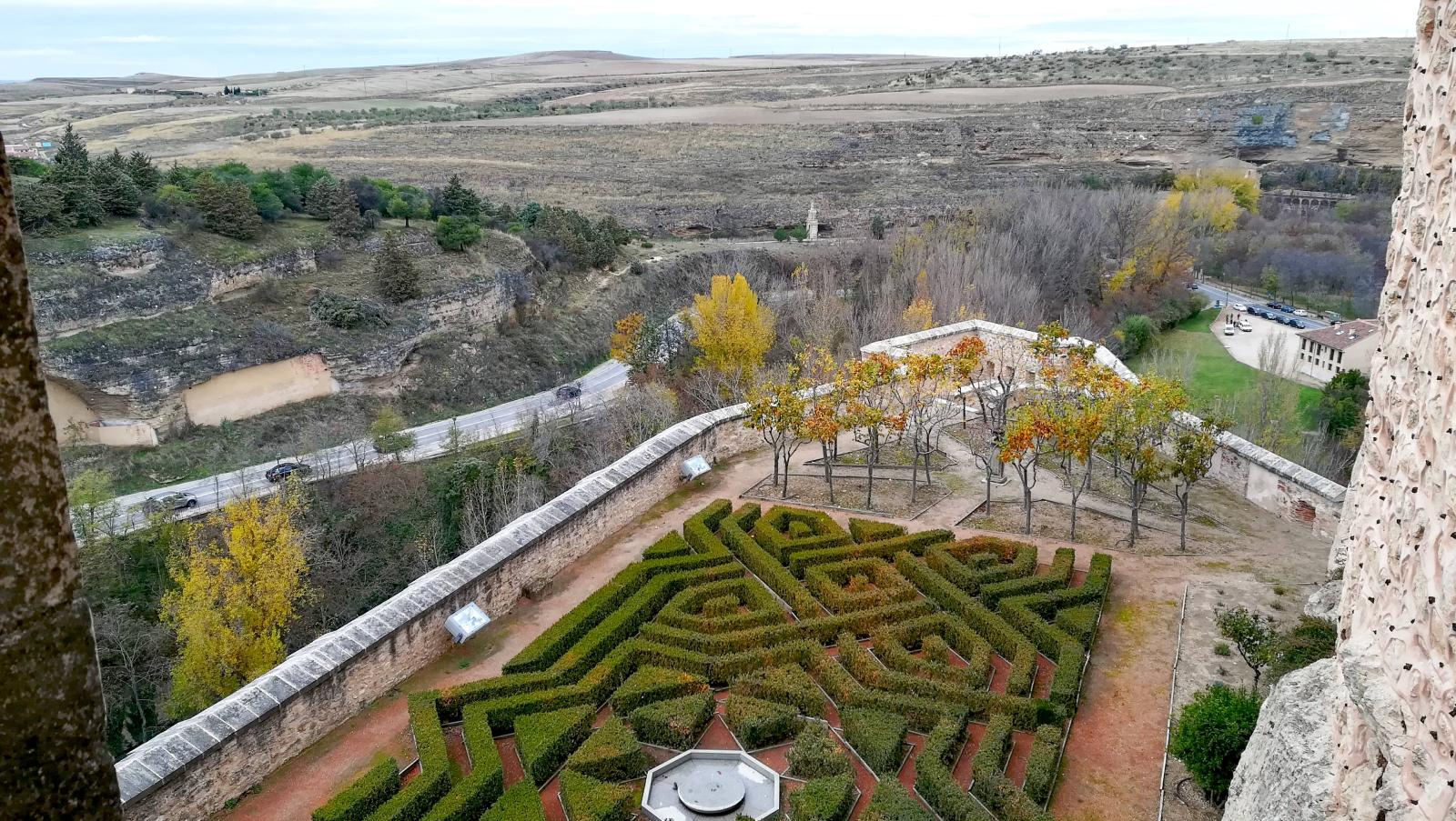 Jardines del Alcázar de Segovia