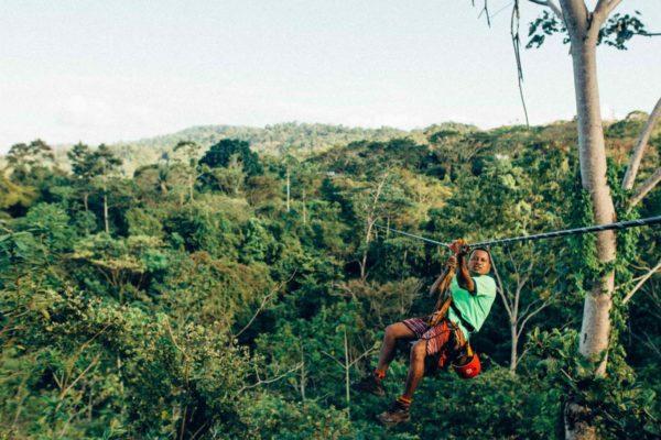 Tirolina con Selvatura Park en Monteverde