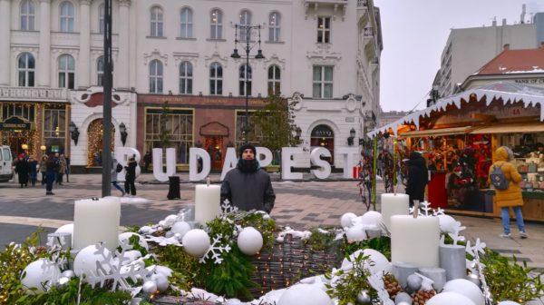 Budapest en tres días en Navidad