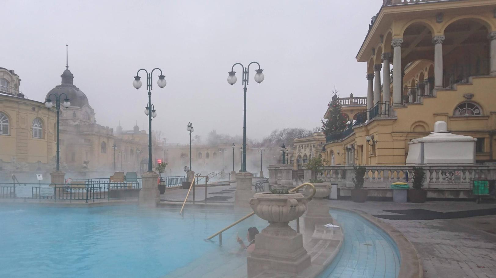 Baños Széchenyi de Budapest