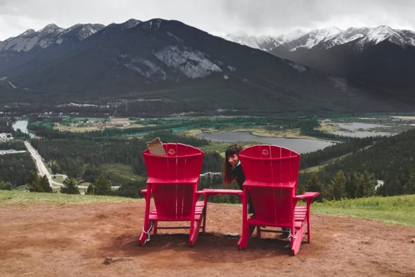 Mapa de las sillas rojas o Red Chair – Rocosas Canadienses