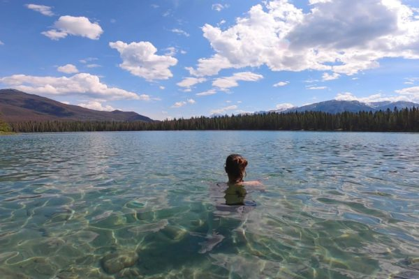 Visitar Lake Annette y Lake Edith en Jasper NP