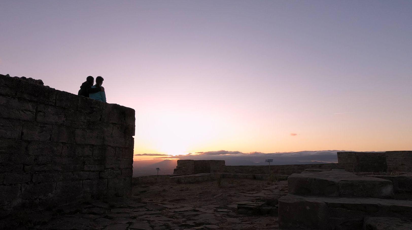 Ruta al Castillo de Irulegi