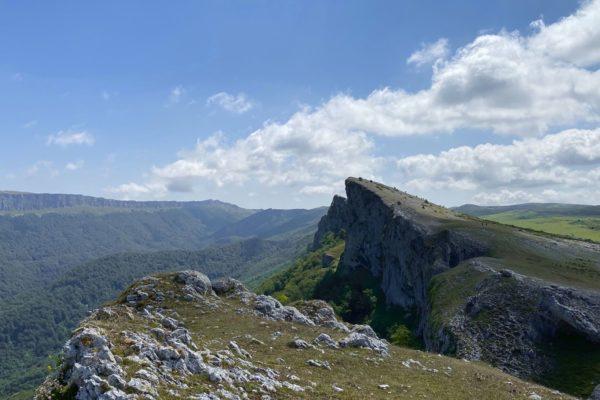 Ruta por la Sierra de Urbasa desde Venta de Lizarraga